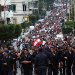 Manifestation contre le confessionnalisme à Beyrouth, le 20 mars 2011